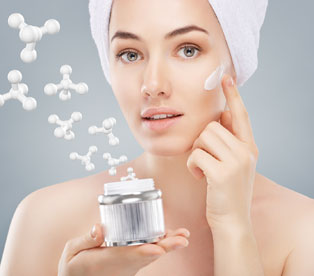 Personalised advice of cosmetic products