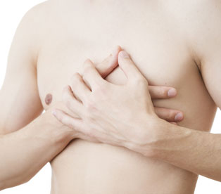 Excess Skin Male Chest