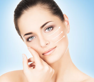 Treatment for sagging facial skin